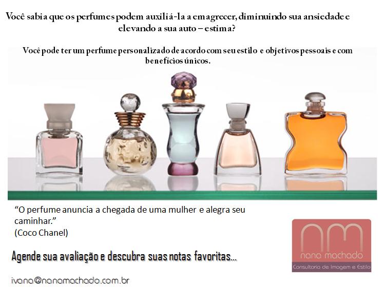 propagando do folder perfumes